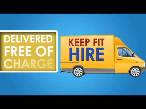 Exercise Equipment Hire   Keep Fit Hire Video