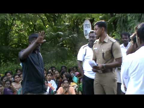 Madurai Kamaraj University Protest Day 1