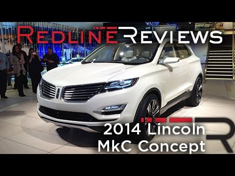 2014 Lincoln Mkc Concept First Look 2013 Detroit Auto Show Youtube