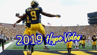 "2019 Michigan Hype Video ""They Just Wanna See Me Fall"""
