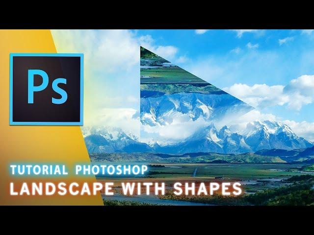 Tutorial Photoshop: Paesaggi con forme Geometriche // Fine Art