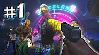iw zombies gameplay esplorativo con random 1 infinite warfare zombies in spaceland ita