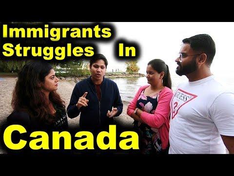 IMMIGRANTS STRUGGLES IN CANADA | CANADA COUPLE