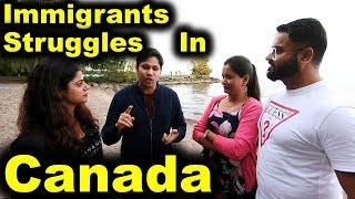 IMMIGRANTS STRUGGLES IN CANADA | CANADA COUPLE