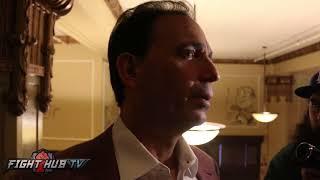 "Tom Loeffler on Canelo Golovkin 2 ""Fight could land in Madison Square Garden"" talks Judges"