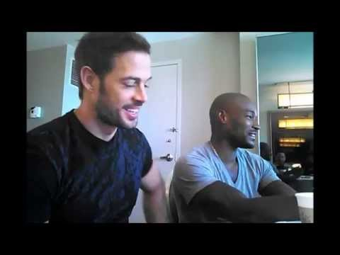Download William Levy & Tyson Beckford ADDICTED interview - October 2, 2014
