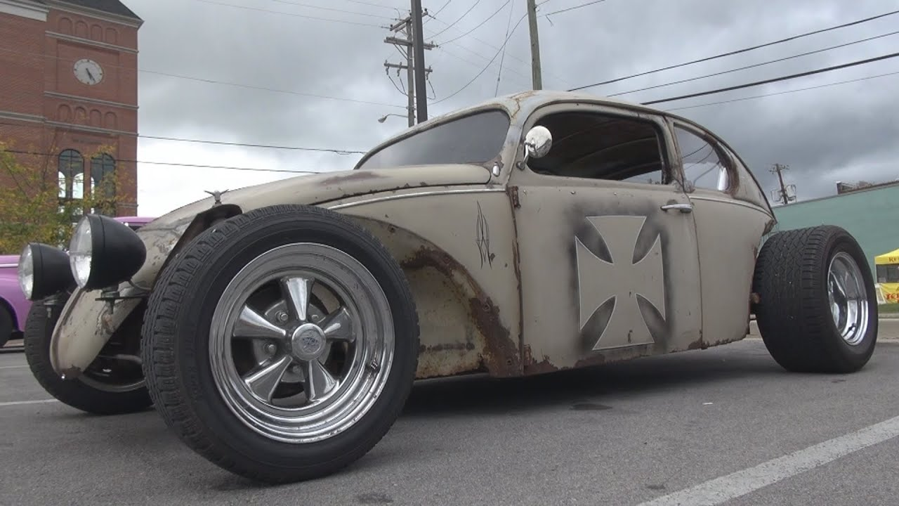 vw beetle rat rod quot bdubya quot vw beetle bug rat rod youtube