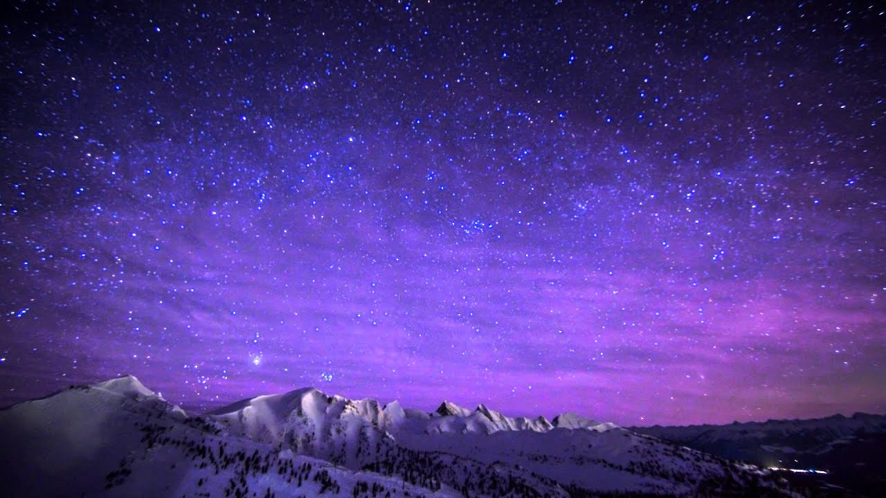 To Make Beautiful Night Time Lapse From The Top Of Kicking Horse Mountain