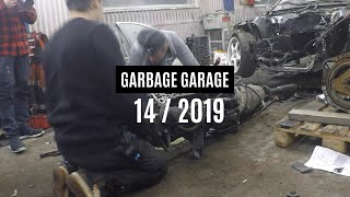 Removing the old engine 3 | Garbage Garage 14-2019