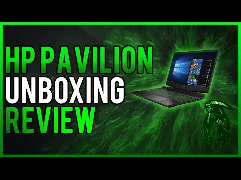 HP Pavilion Gaming laptop 15.6 Unboxing & Review