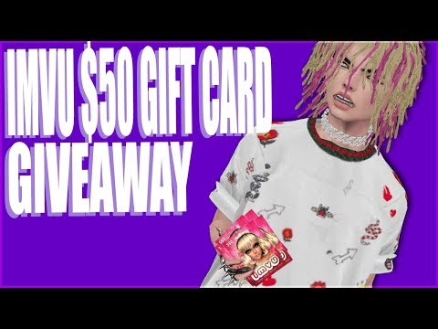 (IMVU) $50 GIFT CARD GIVE AWAY ENTER NOW!!!!