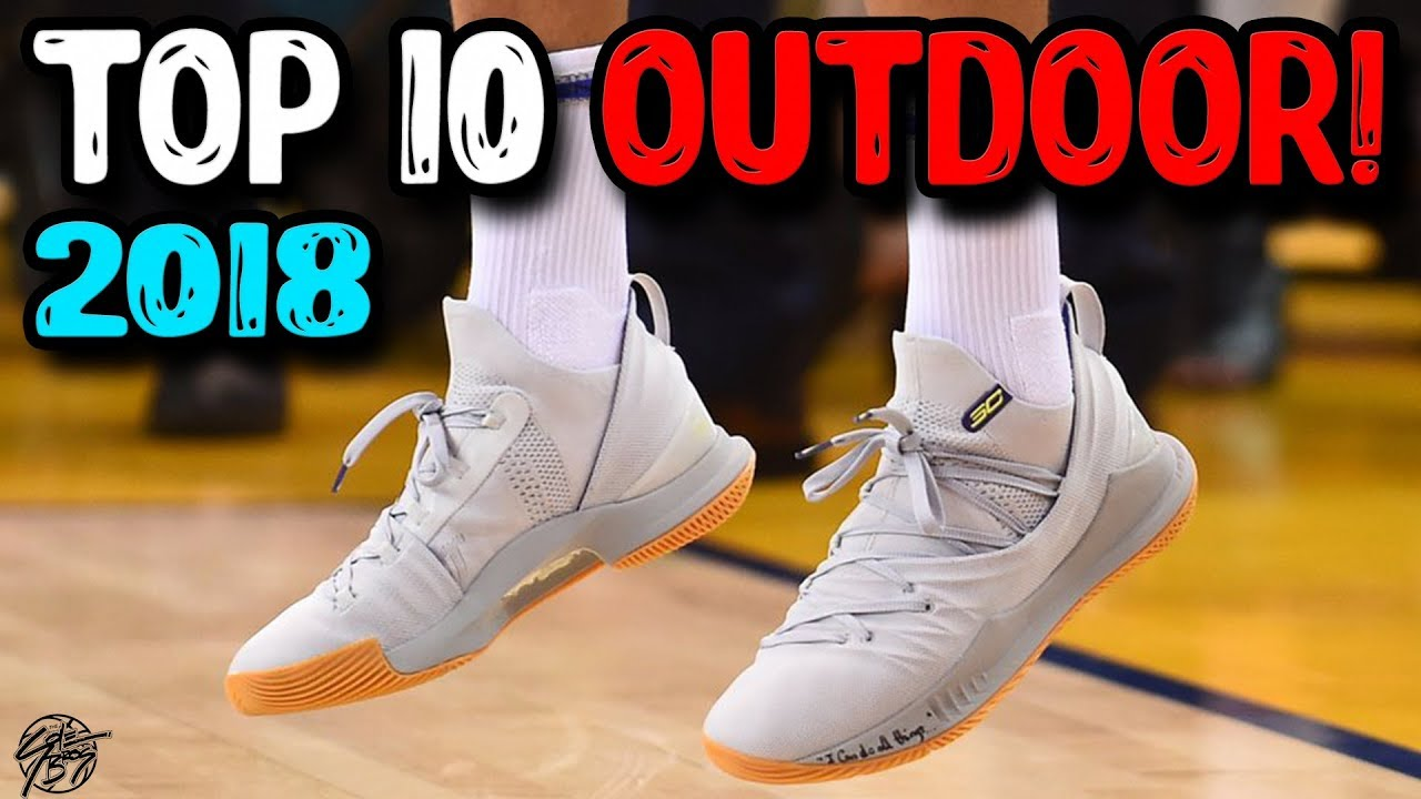 5d602d361d5f Top 10 Outdoor Basketball Shoes of 2018 so Far! - YouTube