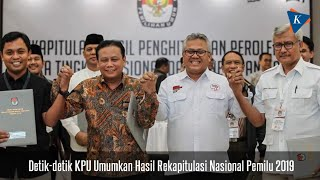 Download Video Detik-detik KPU Umumkan Hasil Rekapitulasi Nasional Pemilu 2019 MP3 3GP MP4