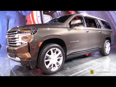 2021 Chevrolet Suburban High Country - Exterior Interior Walkaround - 2020 Chicago Auto Show