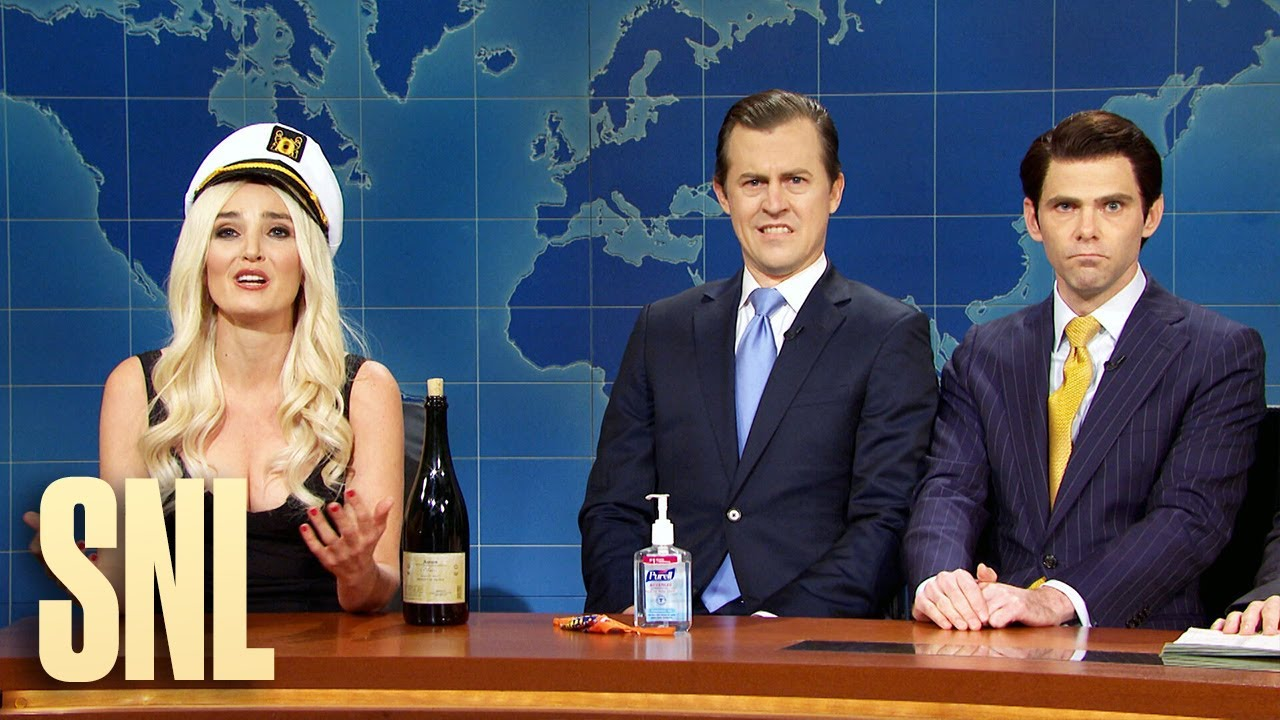 Weekend Update Eric Donald Jr And Tiffany Trump On The 2020 Election Snl Youtube
