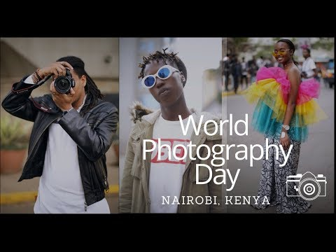 World Photographer's Day In Nairobi, Kenya