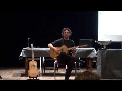 Marcello Vitale - Fandango (chitarra barocca) e Moresca (chitarra battente)