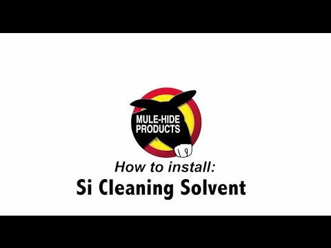 Mule Hide Si Cleaning Solvent