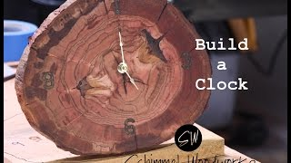 In this video I use a cut of a log to make a unique wall clock. Fun project that is easy. IF you like the video give it a thumbs up and ...
