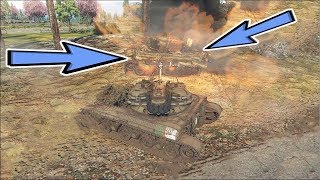 War Thunder Tank T-92 RP GamePlay  7 KILL-0 Death