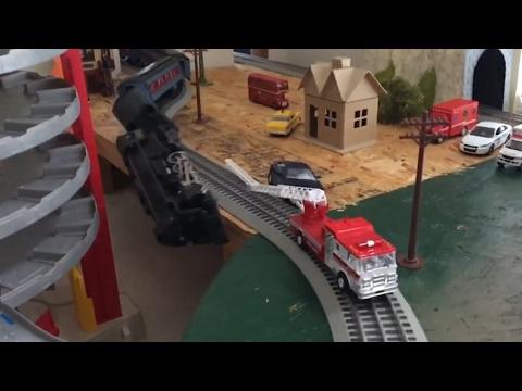 Best Model Train Crashes and Derailments
