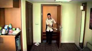 kat hizmetleri 4  oda temizliği