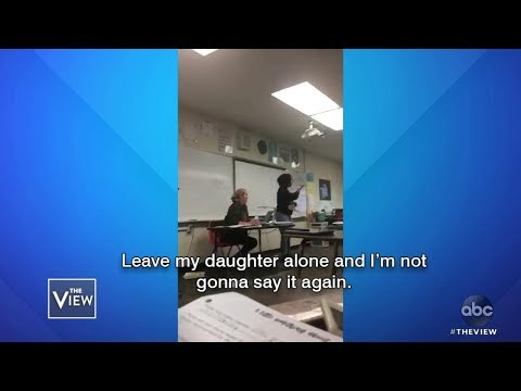 California Mom Confronts Daughter's Bullies | The View