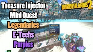 Treasure Syringes! Legendary items, Etechs, and Purples! Head Hunter 5, Son of Crawmerax