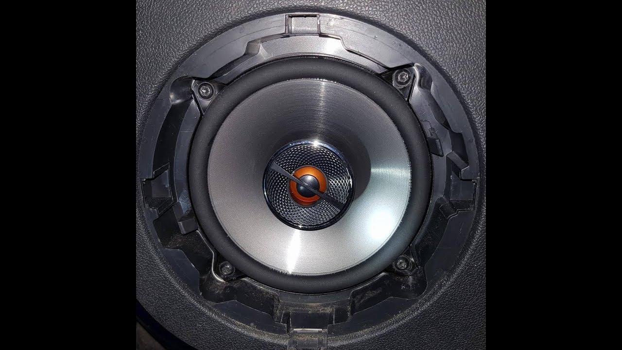 Car speakers JBL CLUB 6500C + KENWOOD KMM-102AY - YouTube