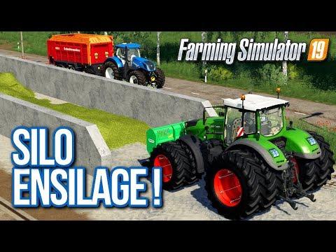 MON PREMIER SILO D'ENSILAGE !!! 😁 (Felsbrunn) - Farming simulator 19