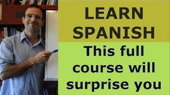 LEARN SPANISH Free Spanish course