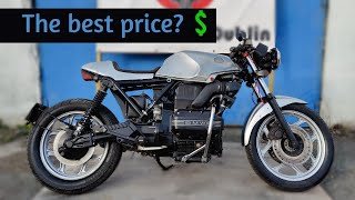 BMW K75 Cafe Racer [Review] LOOK COOL FOR CHEAP! - Top 5 cafe racer mistakes made by beginner