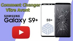 Comment Remplacer Vitre Avant Samsung S9 Plus  - How to Replace Screen Glass Only on Galaxy S9 Plus