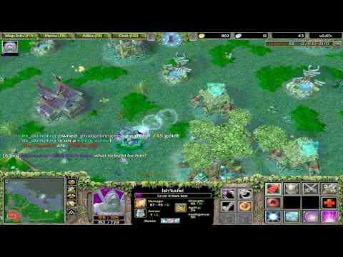 DotA on Warcraft III - Frozen Throne All Random/Easy Mode