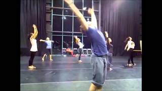 Fusion inspire: the dragon tree. legac contemporary dance troop rehearsal