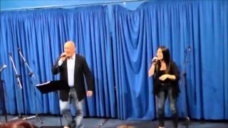 me muero Alejandra Baladón ft Nelson Pintado en vivo