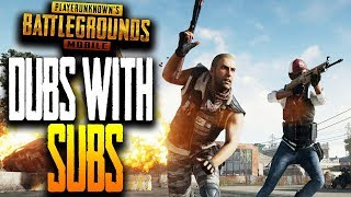 DUBS with SUBS - QUICK MATCHES with WICKED | PUBG Mobile