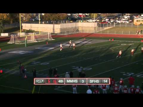 Spanish Fork vs Maple Mtn HS Football Oct 28, 2014