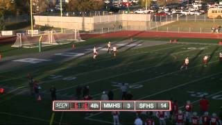 Spanish Fork vs Maple Mtn HS Football Oct 28, 2014