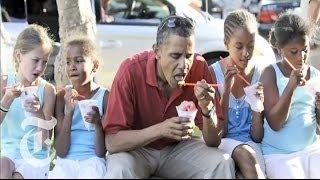 Election 2012   Obama Girls: Malia and Sasha Obama   The New York Times