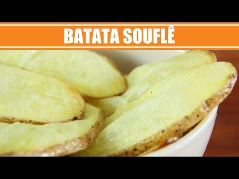 Batata Frita Diferente - Receita de Batata Souflê - Batata Pastel