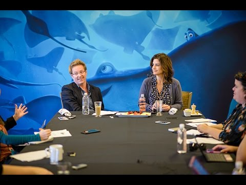 Interview - Andrew Stanton & Lindsey Collins For Finding Dory
