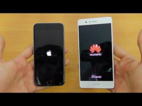 Huawei P9 Lite vs iPhone 6S