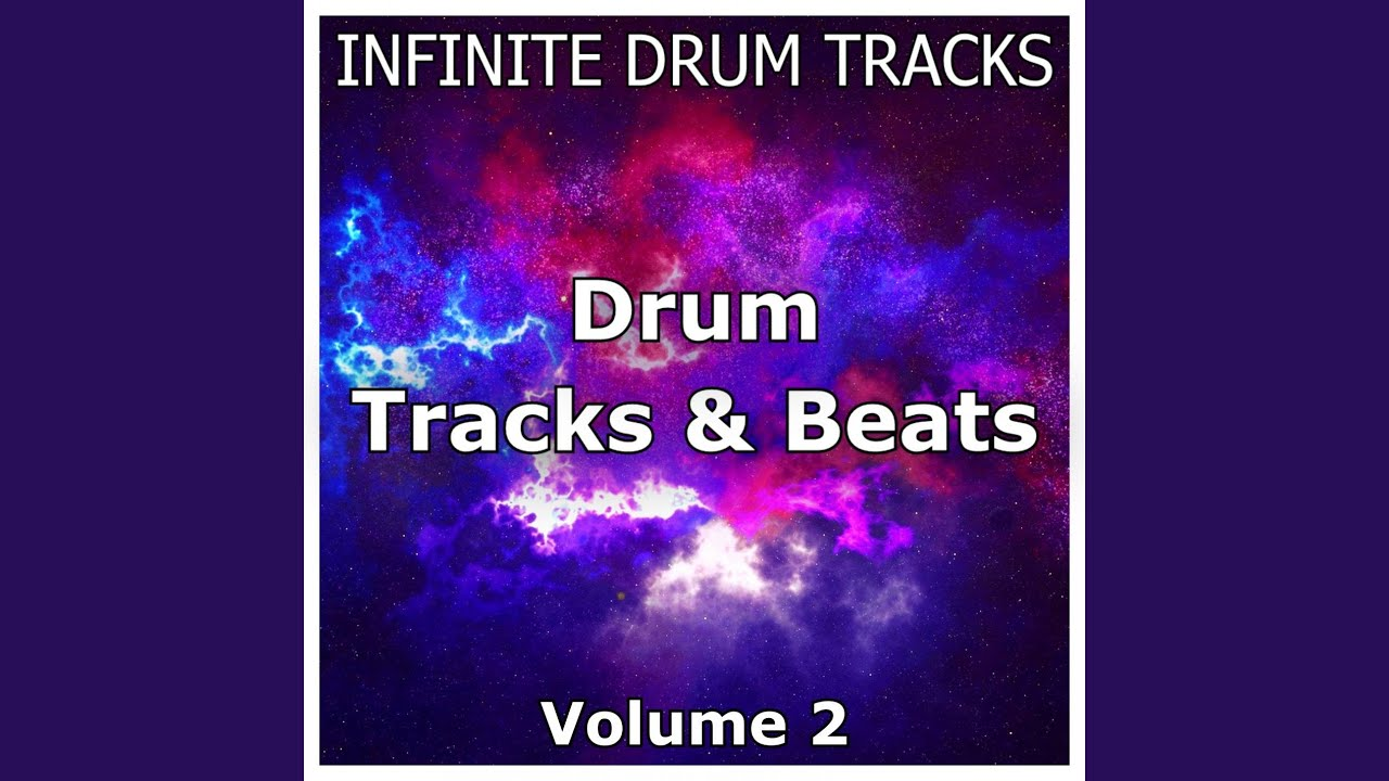 Hard Rock Drum Beat 180 BPM Drum Track (Track ID-15)