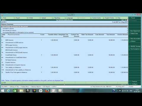 TALLY FOR GST | CANCELLATION OF INCLUSIVE OF TAX ADVANCE RECEIPT | ADVANCE RECEIPT ENTRY IN TALLY