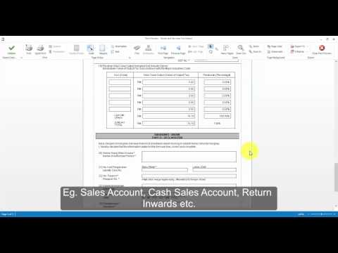 6. How To Submit GST 03 Return, GAF and GST E-Payment with GST Software Advisor