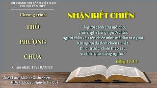HTTL TÂN HIỆP - Chương Trình Thờ Phượng Chúa - 17/10/2021