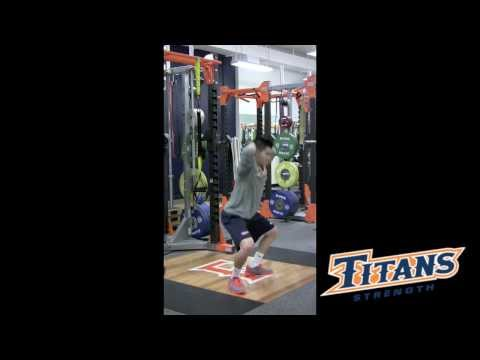 TITANS STRENGTH: Pitchers Post Performance Recovery Training