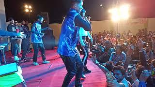 Vickky kajla and karishma sharma in kota rajsthan live show.