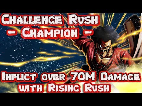 How to inflict over 70 million damage with Rising Rush Challenge Rush Champion | Dragon Ball Legends